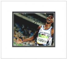 Mo Farah Autograph Signed Photo